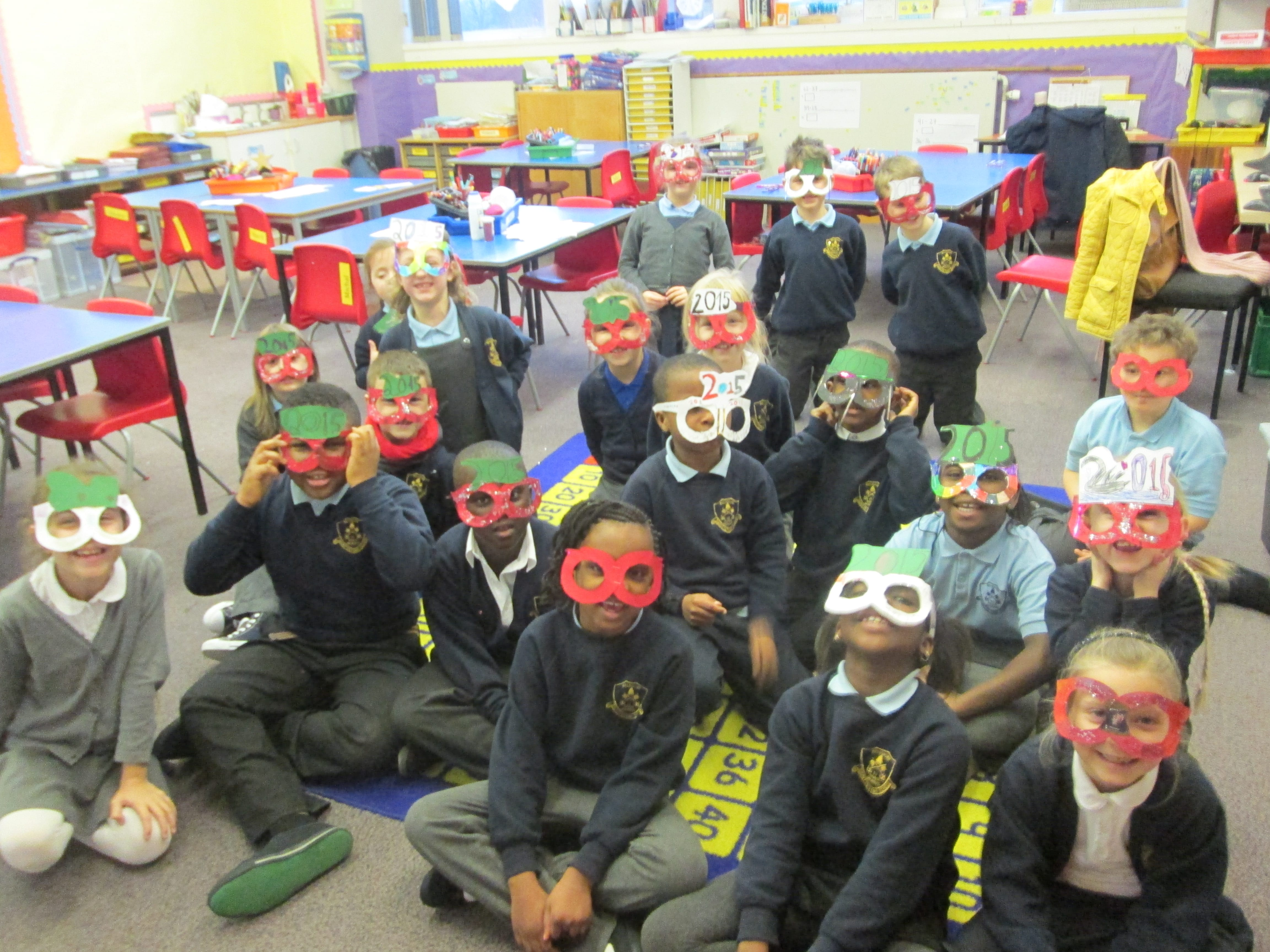 P3 are looking into the future with their special glasses