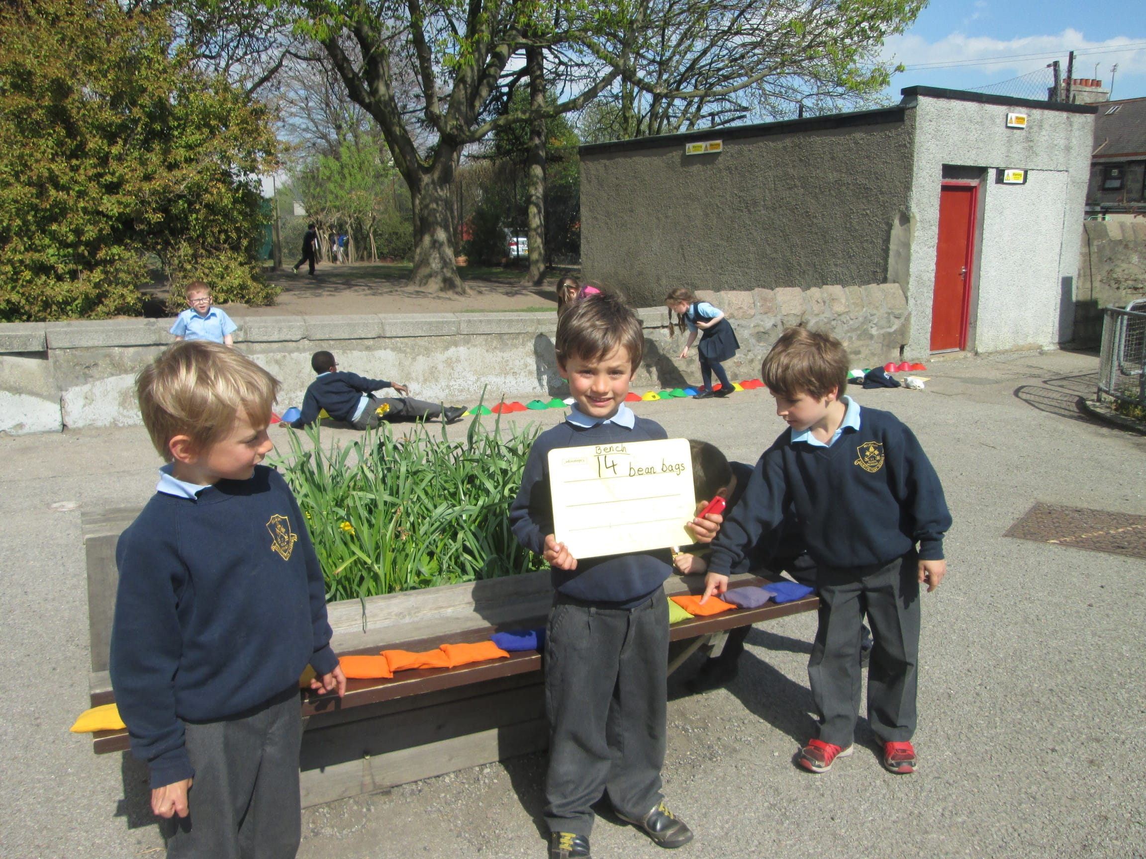 Primary one blue class news.
