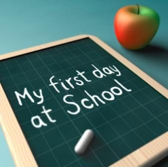Our First Days in Primary One Blue