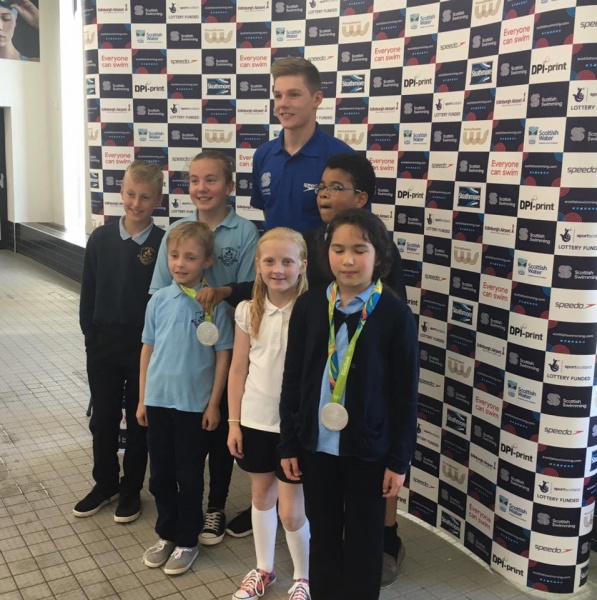 Primary 6 meet Double Silver Olympic Medalist
