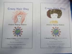 Crazy Hair Day Flyer