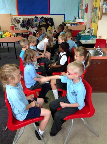 Primary 2 Red Show and Tell