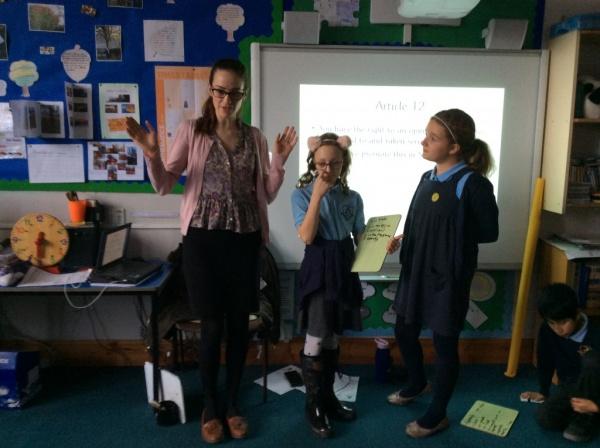 Rights Respecting School Steering Group meeting