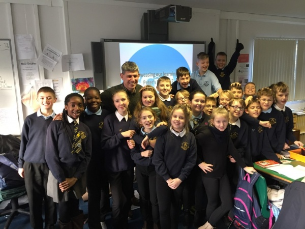 Visit from Director of SCIAF – Alistair Dutton.