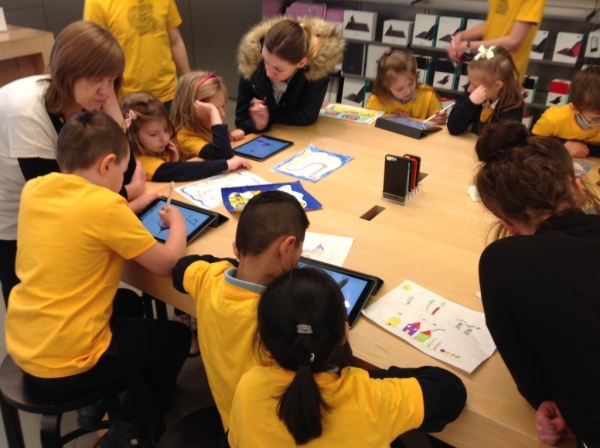 Primary 2 Red Apple Store Visit
