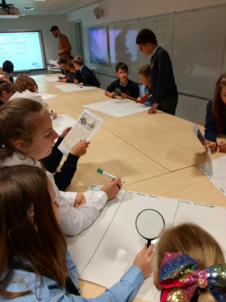 P6/7 trip to Sir Duncan Rice Library