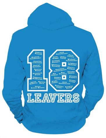 P7 leavers' hoodies