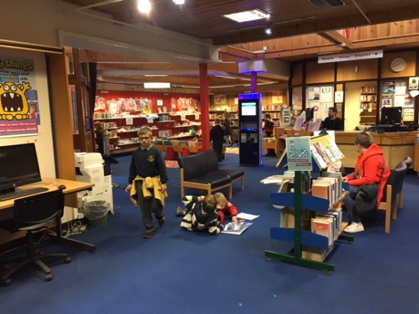 P3 Visit the Library