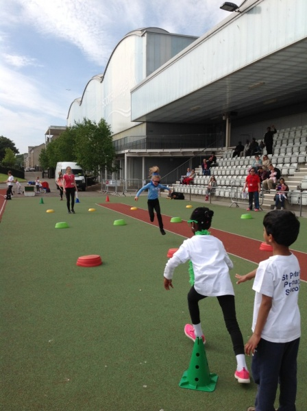 P2 Red: Sports Day