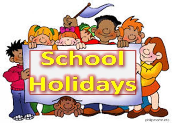 School holidays 2020 – 2025