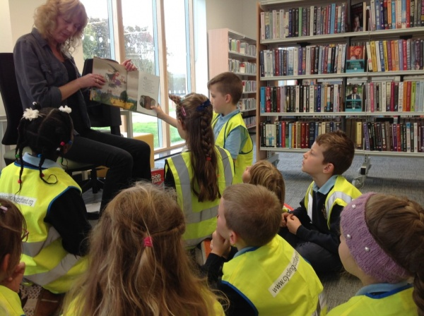 P3 Blue Library Visit