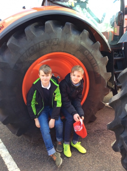 P7 visit to the Royal Northern Agricultural Society Spring Show
